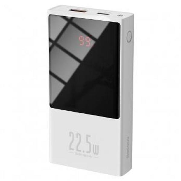Picture of Baseus PPMN-B02 Super mini digital Display power bank 10000mAh 22.5W White