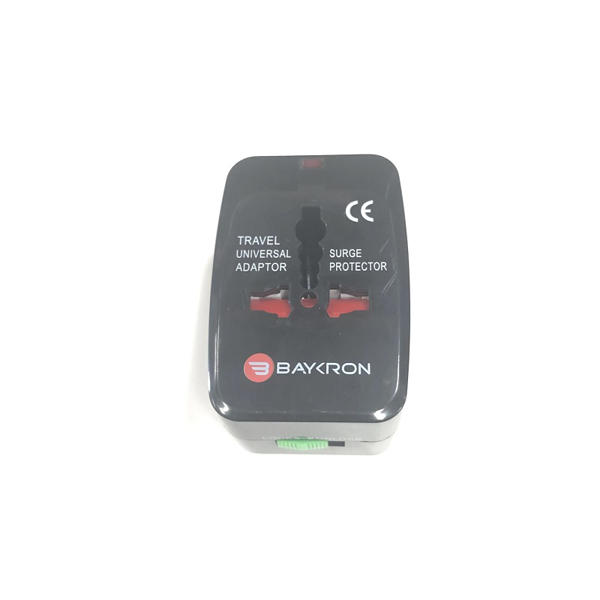 Picture of Baykron Universal world travel adapter Black