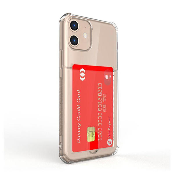 Picture of Baykron iPhone 11 Clear Mobile Case with Credit Card Pocket