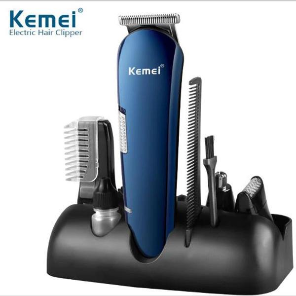 Picture of Kemei hair clipper KM-550 haircut scissors razor carving cut nose hair chest hair ear hair trimmer