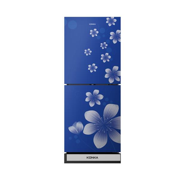 Picture of KRT-200GB-BLUE (2-Door, Upper Freezer, Glass Door)