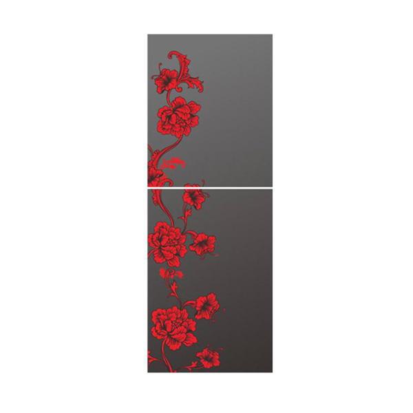 Picture of KRT200GB-TMW (2-Door, Upper Freezer with Red Mirror )