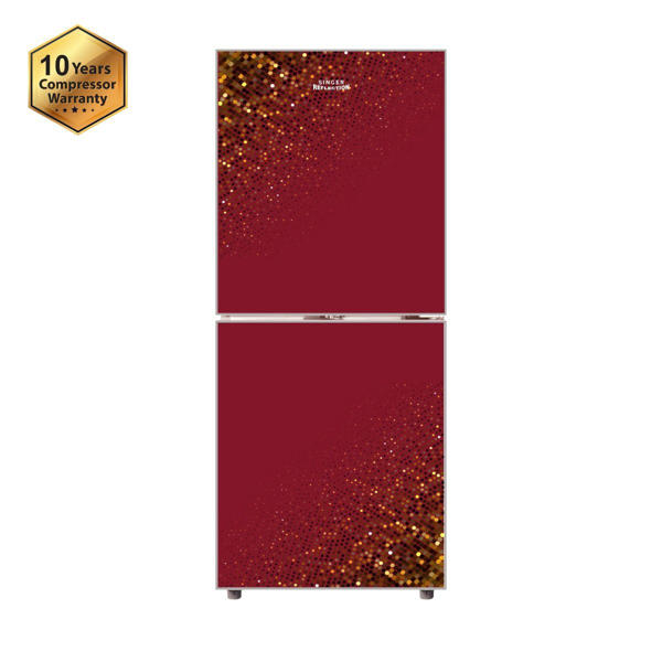Picture of SINGER Refrigerator 243 Ltr Red-243R-RG