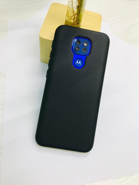 Picture of Motorola G9 Play Back Cover - Black
