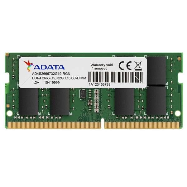 Picture of ADATA 8GB DDR4 2666 Bus Laptop RAM