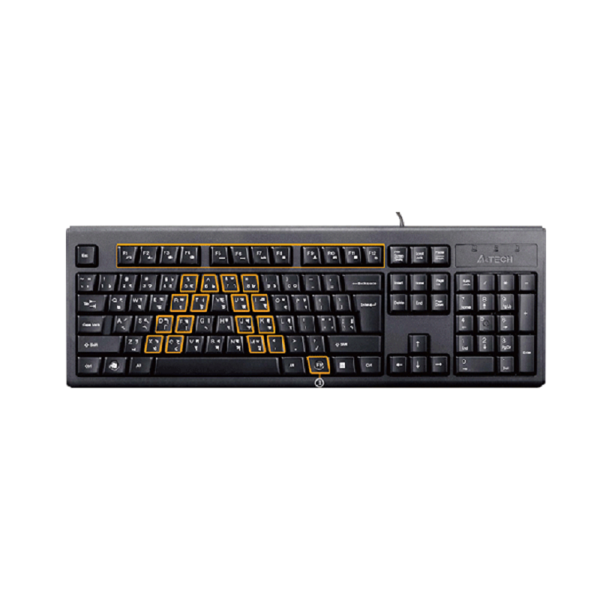 Picture of A4TECH KRS-83 USB FN MULTIMEDIA KEYBOARD WITH BANGLA LAYOUT
