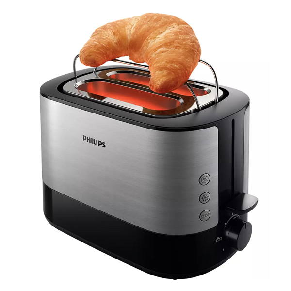 Picture of PHILIPS VIVA COLLECTION 2 SLOTS POP UP BREAD TOASTER (HD2637)