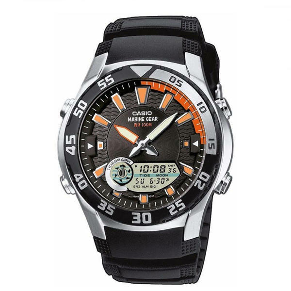 Picture of CASIO Marine Gear Moon Tide Graph Watch AMW 710 1AVDF