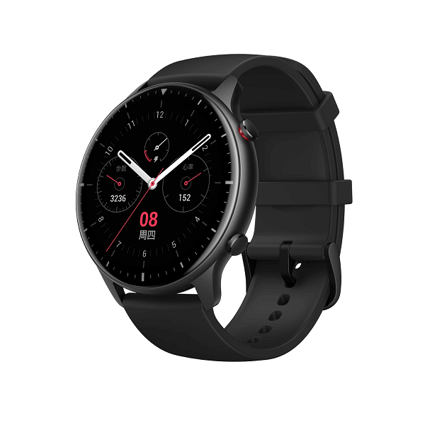 Picture of Amazfit GTR 2 AMOLED Curved Display Sports Aluminum Alloy Global Version – Black