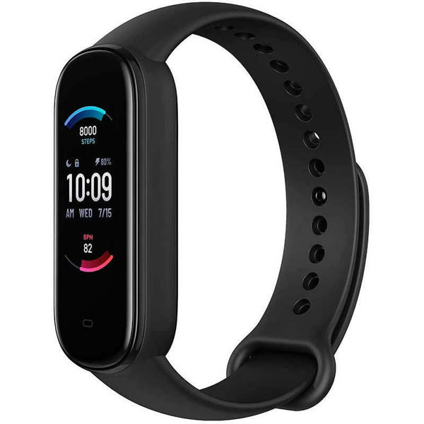 Picture of Amazfit Band 5 Smart Fitness Tracker With spO2- Black