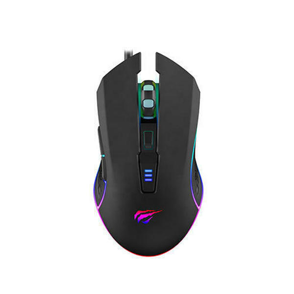 Picture of Havit HV-MS1018 RGB Black Optical Gaming Mouse
