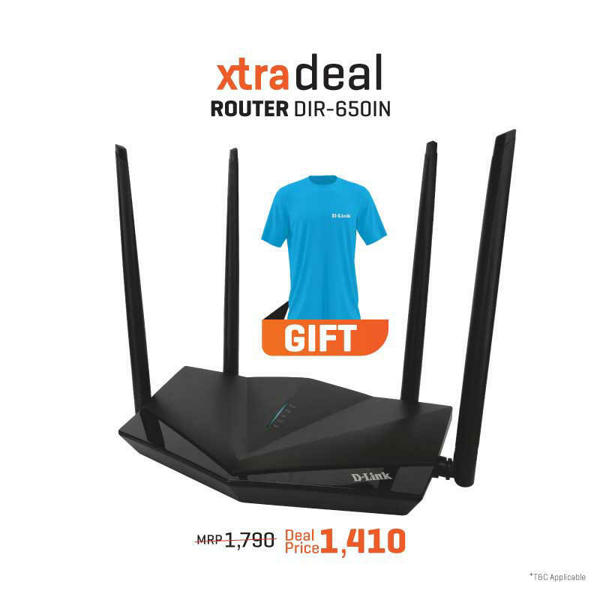 Picture of Router DIR-650