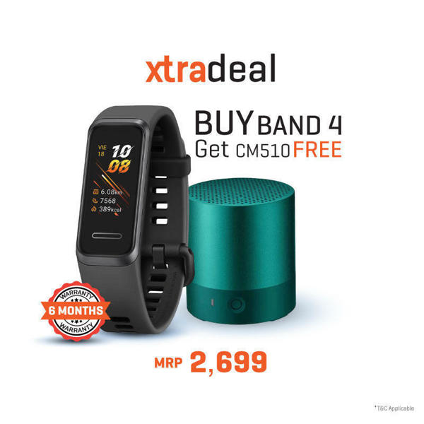 Picture of Huawei Band 4  with free Speaker
