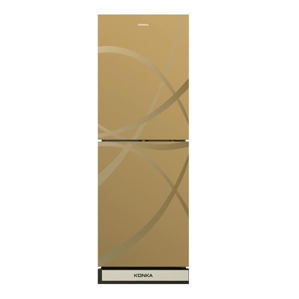 Picture of KRT-200GB-GOLD STRIP (2-Door, Upper Freezer, Glass Door)