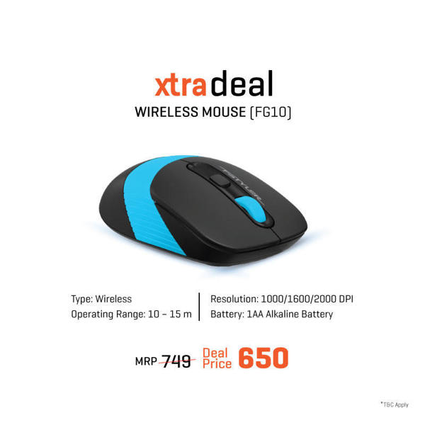 Picture of A4TECH WIRELESS MOUSE  FG10