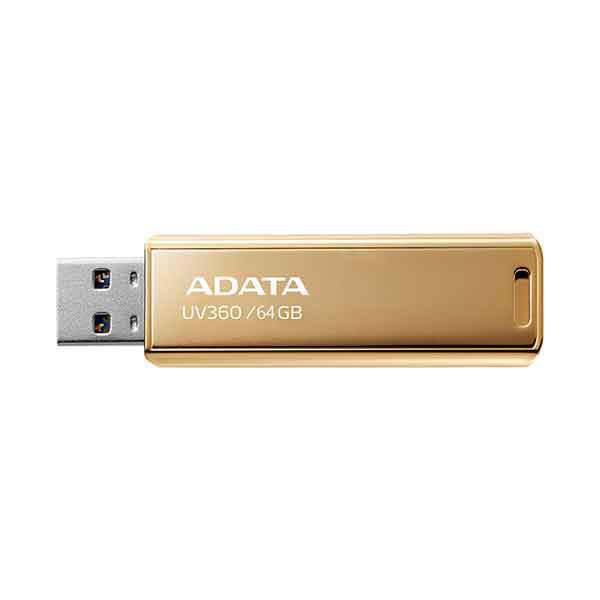 Picture of ADATA 64 GB UV360 USB 3.2 GOLDEN LIMITED EDITION Pen Drive
