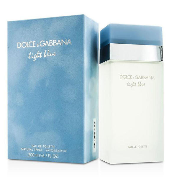 Picture of DOLCE & GABBANA LIGHT BLUE (W) EDT 200ML