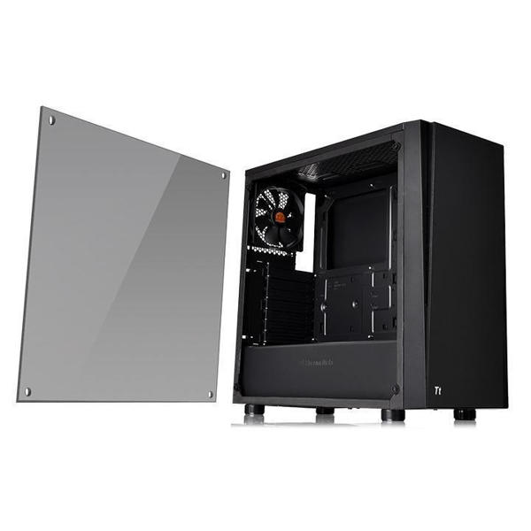 Picture of Versa J21 TG Mid Tower Chassis Black