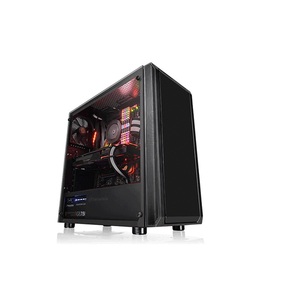 Picture of Thermaltake Versa J23 TG Mid Tower Chassis Black