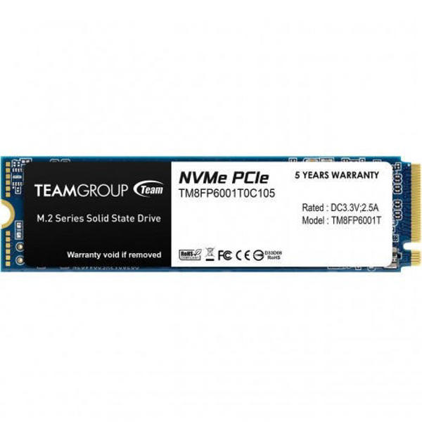 Picture of TEAM MP33 1TB M.2 NVMe 1.3 SSD