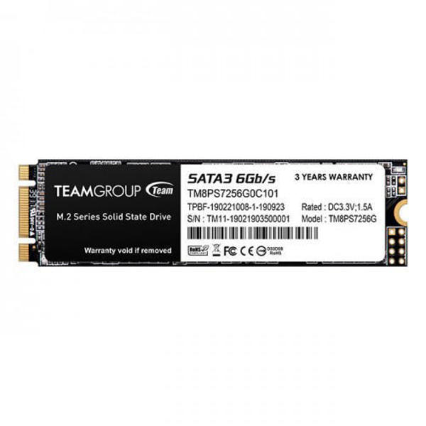 Picture of TEAM MS30 M.2 SATA3 SSD 2280 256GB (TM8PS7256G0C101)