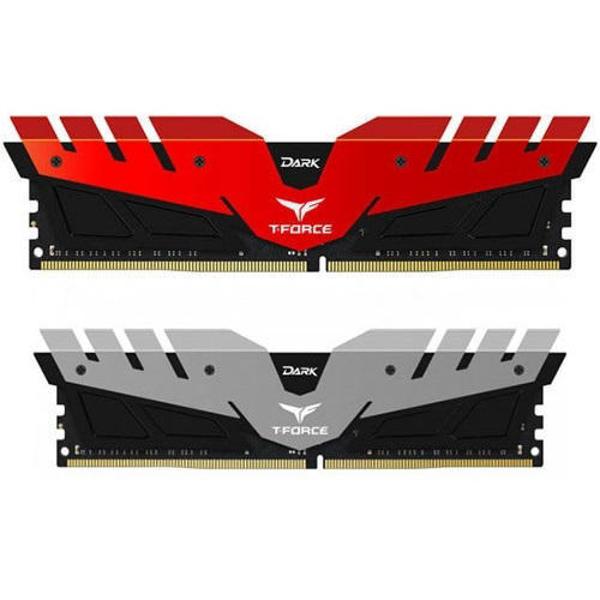 Picture of Team T-Force DARK 16GB DDR4 3200 Desktop Memory (TDRED432G3200HC16CDC01)