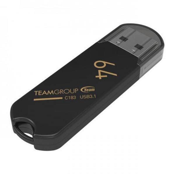 Picture of TEAM C183 64GB USB 3.1 FLASH DRIVE (TC183364GB01)