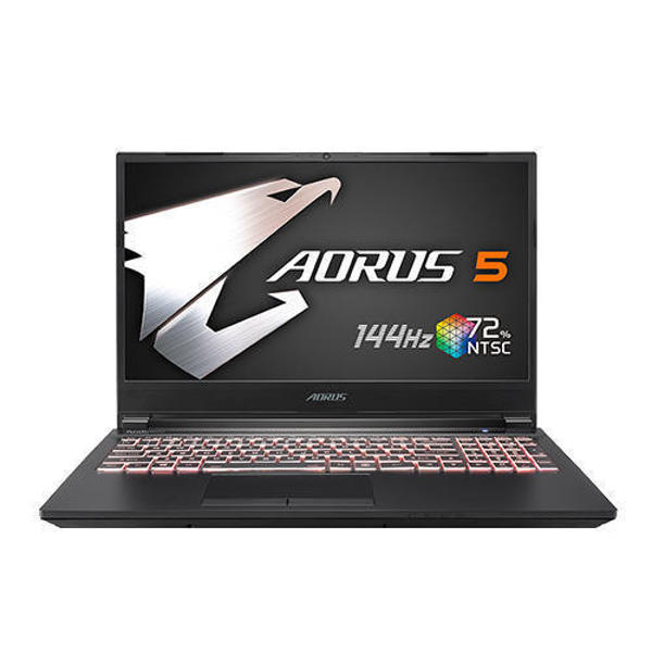 """Picture of Gigabyte Aorus 5 MB Core i5 10th Gen GTX 1650Ti Graphics 15.6"""" 144Hz FHD Gaming Laptop"""