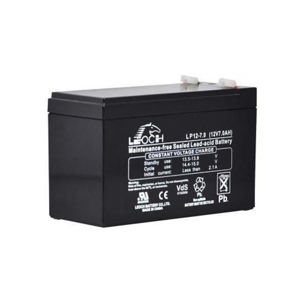 Picture of Leoch LP12-7.0 (12V 7Ah) Sealed Lead Acid Battery