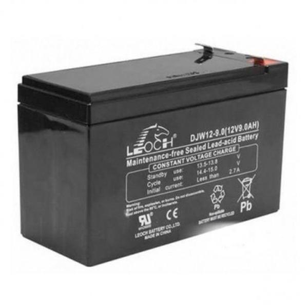 Picture of Leoch LP12-9.0 (12V 9Ah) Sealed Lead Acid Battery