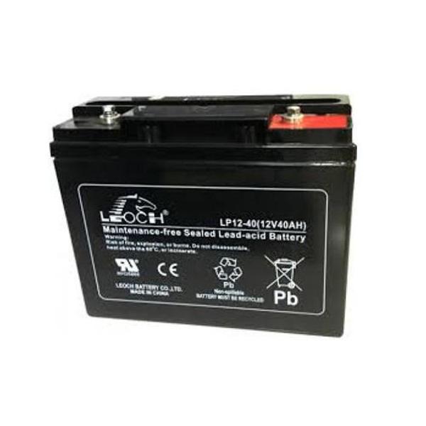 Picture of Leoch LP12-40 (12V 40Ah) Sealed Lead Acid Battery