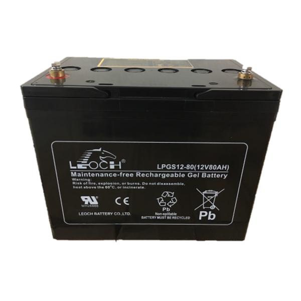 Picture of Leoch LP12-80 (12V 80Ah) Sealed Lead Acid Battery