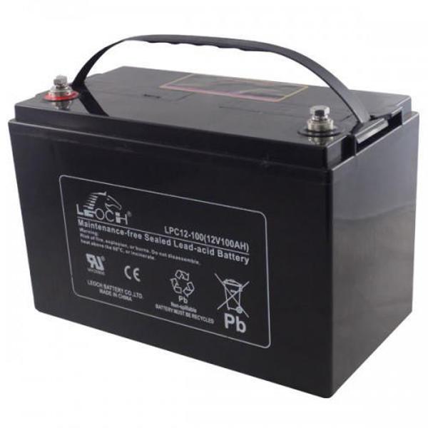 Picture of Leoch LP12-100 (12V 100Ah) Sealed Lead Acid Battery