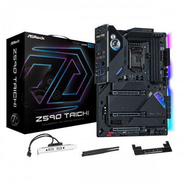 Picture of ASRock Z590 Taichi Wi-Fi 10th and 11th Gen ATX Motherboard