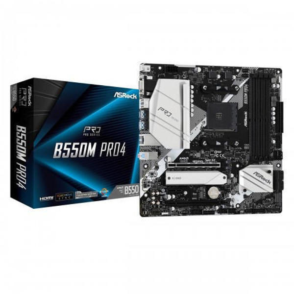 Picture of ASRock B550M Pro4 DDR4 AMD Motherboard