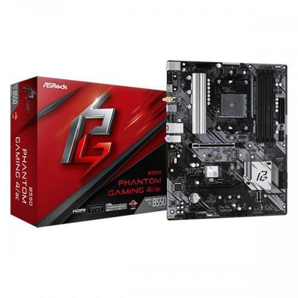 Picture of ASRock B550 Phantom Gaming 4 AMD Motherboard