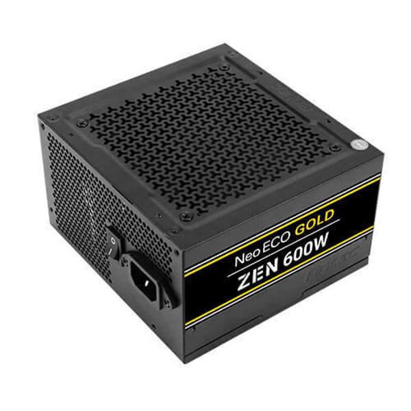 Picture of Antec Neo Eco Gold Zen 600W Non Modular Power Supply