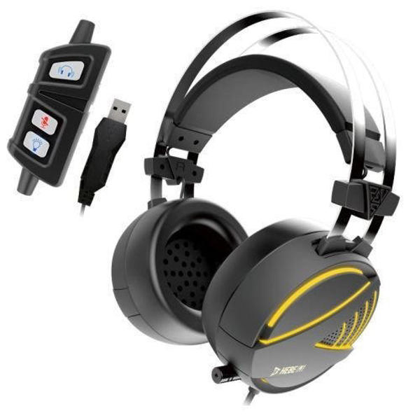 Picture of Gamdias HEBE M1 RGB 7.1 Surround Sound Wired Gaming Headset