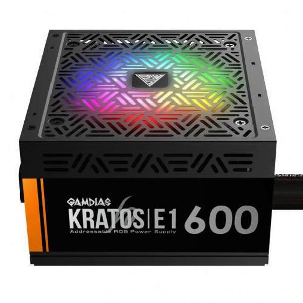 Picture of Gamdias Kratos E1-600W RGB Power Supply