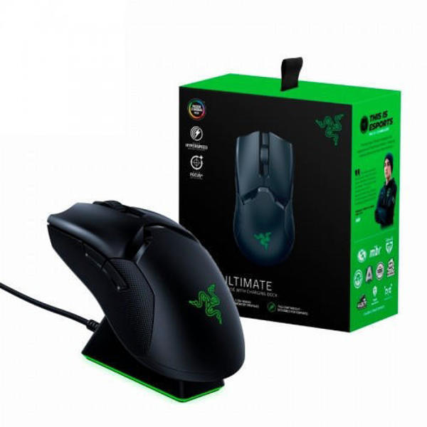 Picture of Razer Viper Ultimate RGB Gaming Mouse with Charging Dock