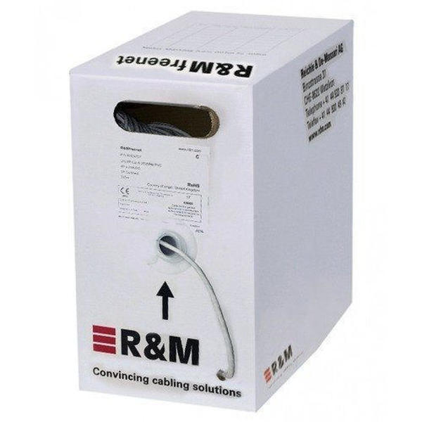 Picture of R&M Cat 6 U/UTP Cable Box (Yellow/ Blue)