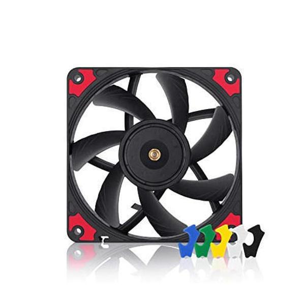 Picture of Noctua NF-A12x15 PWM Chromax 120mm Premium Casing Fan (Black)