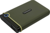 Picture of Transcend 2TB Storejet M3 Portable Hard Disk Drive (HDD) Military Green Slim