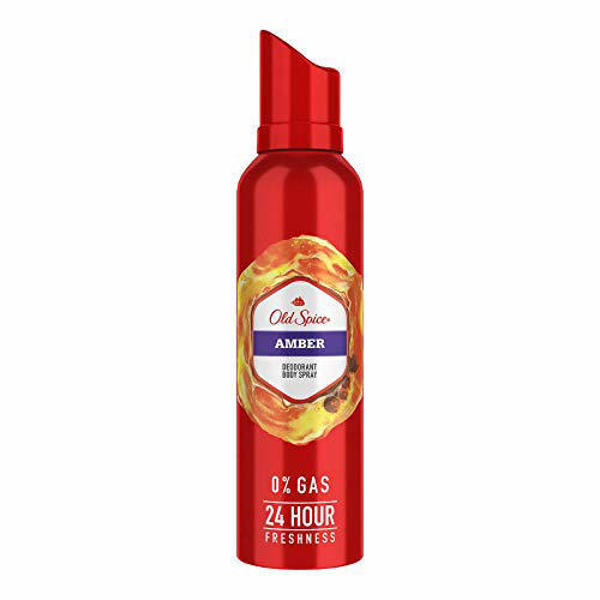 Picture of Old Spice Amber Deodorant Body Spray - 140 ml