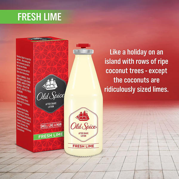 Picture of Old Spice After Shave Lotion FRESH LIME 50ML