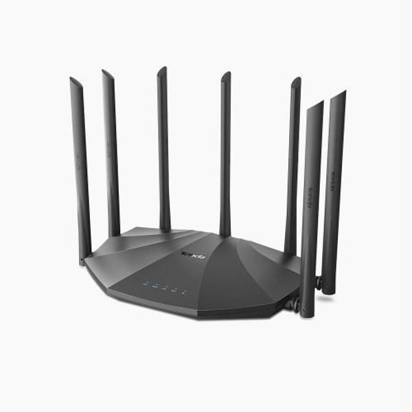 Picture of Tenda AC23 2033mbps AC2100 7 Antenna Dual Band Gigabit Wireless Router (Black)