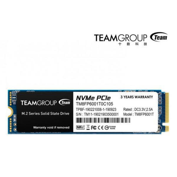 Picture of Team MP33 512GB M.2 PCIe SSD