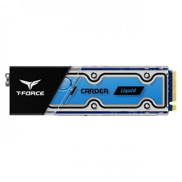Picture of TEAM T-FORCE CARDEA Liquid Water Cooling M.2-2280 PCIe 512GB SSD