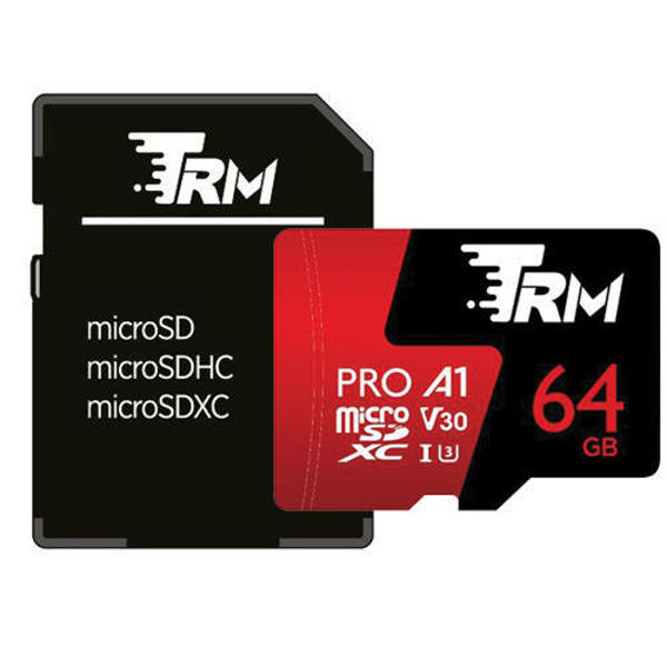 Picture of TRM P500 High-Performance 667X 512GB Professional MicroSDXC