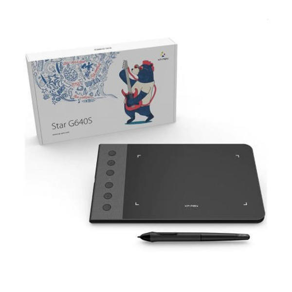 Picture of XP-Pen Star-G640S Android Ultrathin Digital Drawing Graphics Tablet